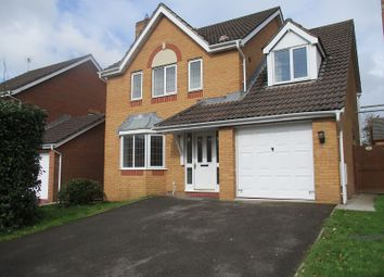 Thumbnail 4 bed detached house for sale in Llys Castell, Margam, Port Talbot, Neath Port Talbot.
