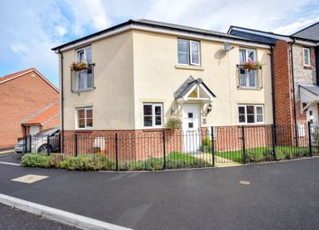 Thumbnail 3 bed end terrace house for sale in Higher Meadow, Cranbrook, Exeter