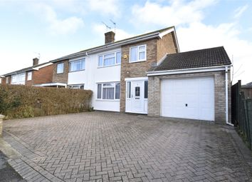 Thumbnail 3 bedroom semi-detached house for sale in Moreton Close, Bishops Cleeve, Cheltenham, Gloucestershire
