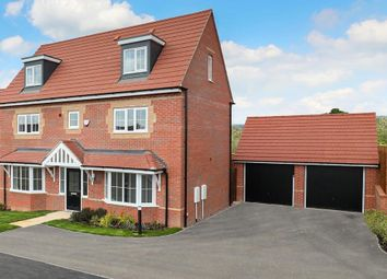 "Thumbnail 5 bed detached house for sale in ""Warwick"" at Michaels Drive, Corby"