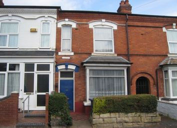 Thumbnail 3 bedroom terraced house for sale in Oakwood Road, Sparkhill, Birmingham