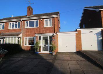 Thumbnail 3 bed semi-detached house for sale in Latimer Road, Alvechurch, Birmingham