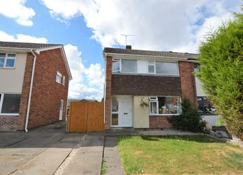 Thumbnail 3 bed semi-detached house for sale in Herbert Close, Whetstone, Leicester