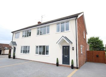 Thumbnail 3 bedroom semi-detached house for sale in The Street, Bramford, Ipswich, Suffolk