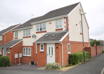 Thumbnail 3 bed semi-detached house for sale in Oadby Drive, Hasland, Chesterfield