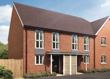 """Thumbnail 2 bed semi-detached house for sale in """"The Hambrook"""" at Oxleigh Way, Stoke Gifford, Bristol"""