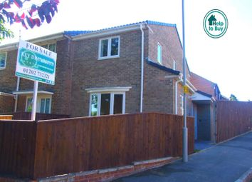 Thumbnail 2 bed end terrace house for sale in Highview Gardens, Parkstone, Poole
