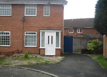Thumbnail 2 bed semi-detached house to rent in Smeaton Gardens, Birmingham