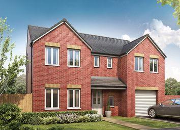 "Thumbnail 5 bedroom detached house for sale in ""The Edlingham"" at Silksworth Road, New Silksworth, Sunderland"
