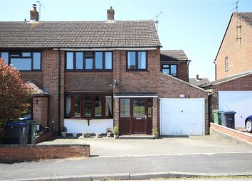 Thumbnail 4 bed semi-detached house for sale in Eastwood Avenue, Royal Wootton Bassett, Wiltshire