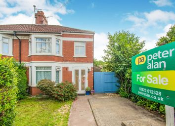 3 bed semi-detached house for sale in College Road, Llandaff North, Cardiff CF14
