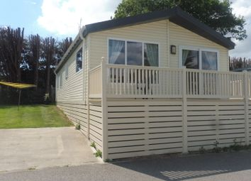 Thumbnail 3 bed lodge for sale in Valley Road, Clacton-On-Sea