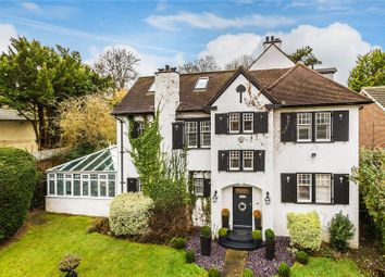 Thumbnail 5 bed detached house for sale in Riddlesdown Road, Purley
