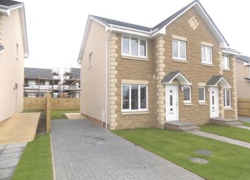 Thumbnail 3 bed semi-detached house for sale in Torbothie Road, Shotts
