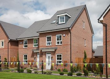 "Thumbnail 4 bed semi-detached house for sale in ""Rochester"" at Weddington Road, Nuneaton"