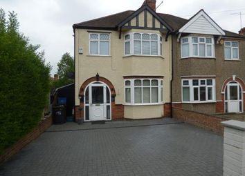 Thumbnail 3 bed semi-detached house for sale in Birchfield Road East, Northampton, Northamptonshire