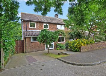Thumbnail 4 bed semi-detached house for sale in Elmtree Drive, Rochester, Kent