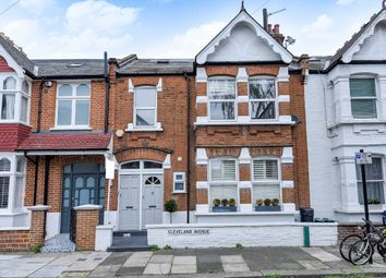 Thumbnail 3 bed flat for sale in Cleveland Avenue, London