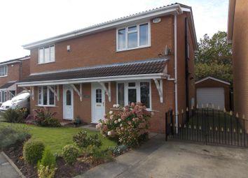 Thumbnail 3 bedroom semi-detached house for sale in Rodney Close, Billingham
