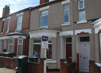Thumbnail 3 bedroom terraced house to rent in Kensington Road, Earlsdon, Coventry
