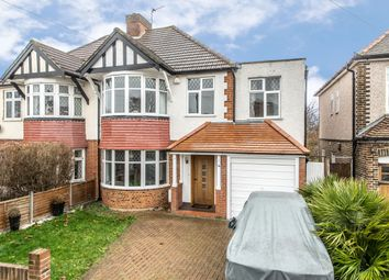 Thumbnail 5 bed semi-detached house for sale in Elgar Avenue, Surbiton
