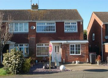 Thumbnail 3 bedroom semi-detached house for sale in Brockwood Close, Duston, Northampton