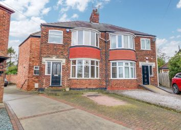 Thumbnail 4 bed semi-detached house for sale in Westfield Rise, Hessle