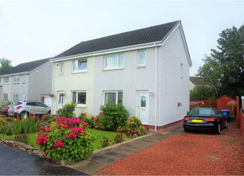 Thumbnail 3 bed semi-detached house for sale in Olifard Avenue, Bothwell