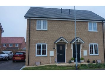 Thumbnail 2 bed semi-detached house for sale in Sandpiper Close, Peterborough