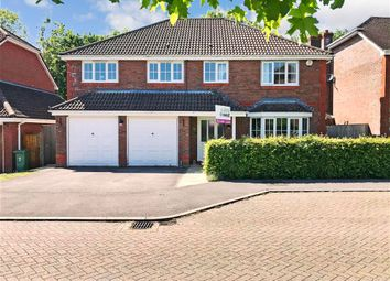 Covert Mead, Ashington, West Sussex RH20. 5 bed detached house