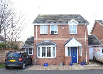 Thumbnail 3 bed detached house for sale in Mercia Drive, Ancaster, Grantham