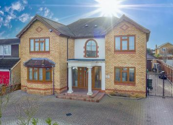Thumbnail 5 bed detached house for sale in London Road, Wickford