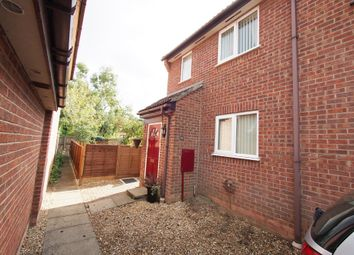 Thumbnail 1 bed semi-detached house for sale in Marwood Close, Wymondham