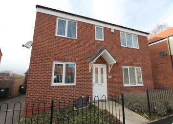 Thumbnail 4 bed detached house to rent in Chestnut Street, Walsall