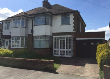 Thumbnail 3 bedroom semi-detached house to rent in New Bedford Road, Luton, Beds