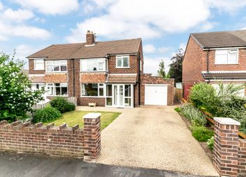 Thumbnail 3 bed semi-detached house for sale in Dunmow Road, Thelwall, Warrington
