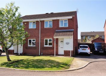 Thumbnail 3 bedroom semi-detached house for sale in Bickford Close, Barrs Court