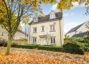 Thumbnail 4 bed detached house for sale in School Road, Calne