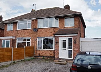 Thumbnail 3 bed semi-detached house for sale in Sextant Road, Leicester