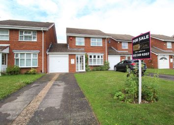 Thumbnail 3 bed link-detached house for sale in Pipers Green, Hall Green, Birmingham
