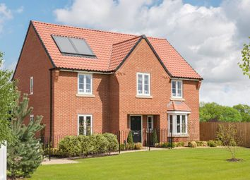 "Thumbnail 4 bed detached house for sale in ""Winstone"" at Alethea Farm Place, Tilbury Road, Tilbury Juxta Clare, Halstead"