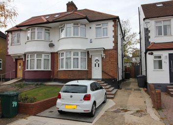 Thumbnail 3 bed semi-detached house for sale in Brook Avenue, Edgware