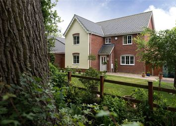 Thumbnail 4 bedroom detached house for sale in Summer Close, Framingham Earl, Norwich, Norfolk