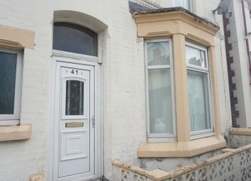 Thumbnail 2 bedroom terraced house for sale in Pendennis Street, Anfield, Liverpool, Liverpool, Merseyside