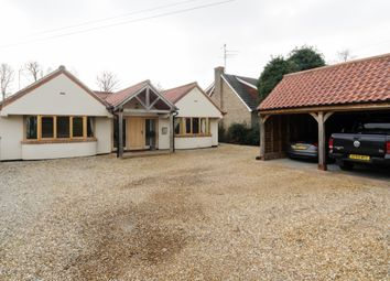 Thumbnail 4 bedroom bungalow for sale in Chapel Road, Dersingham, King's Lynn
