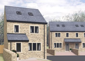 Thumbnail 4 bed detached house for sale in Mill Pond Court, Harden, Bingley