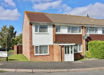 Thumbnail 5 bed end terrace house for sale in Crusader Road, Hedge End, Southampton