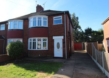 Thumbnail 3 bed semi-detached house for sale in Liverpool Avenue, Wheatley, Doncaster