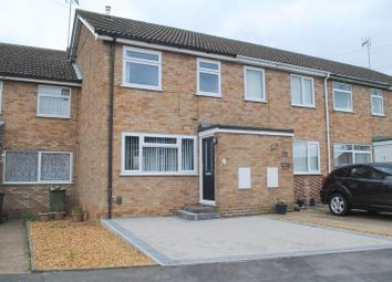 Thumbnail 3 bed terraced house to rent in Saxon Rise, Irchester, Wellingborough