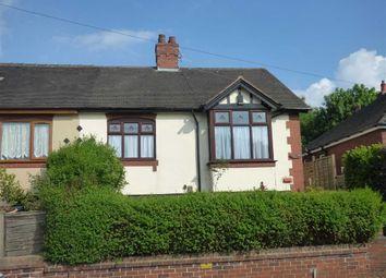 Thumbnail 2 bedroom semi-detached bungalow for sale in Leek Road, Hanley, Stoke-On-Trent